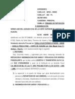 MODELO DEMANDA DE REPOSICIÓN E INDEMNIZACIÓN - ORDINARIO..docx