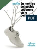 Gentile Emilio. La mentira del pueblo soberano en la democracia..pdf