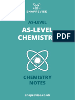 CHEMISTRY_ as as-Level Chemistry (New Spec) Notes