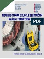Merenje otpora izolacije elektricnih masina i transformatora.pdf
