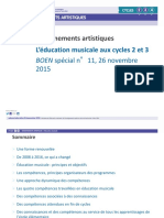 Programmes EMMC - Documents d'accompagnement CYCLE 3