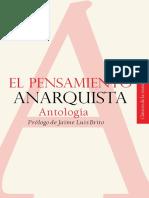 El pensamiento anarquista - Antología - Prólogo de Jaime Luis Brito.[Ed. Universidad Autónoma del Estado de Morelos. México. 2015].pdf