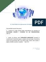 E1. Efectividad en Las Organizaciones. Estrategias Gerenciales