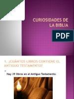 648curiosidades Sobre La Biblia