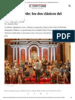 Mozart y Haydn_ Los Dos Clásicos Del Género Sacro _ ELESPECTADOR