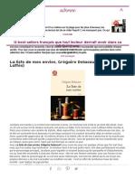 Best-sellers Français _ Meilleures Ventes Livres