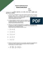PP1 Niv. Matemáticas Fila A