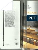 35_CHOMSKY La (des)educación. Chomsky.pdf