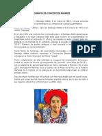 Biografía de Concepcion Ramirez