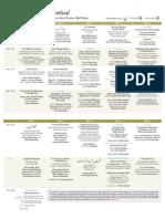 LLF2019 Sunday Schedule