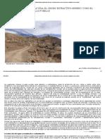 La Modernidad Contra La Vida_ El Orden 'Extractivo-minero' Como El Desorden Ecológico de Los Pueblos