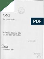 Cage, John - One (piano).pdf