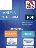 Anemia y leucemia/esquema de hidratacion