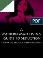 18802401 a Modern Man Living Guide to Seduction