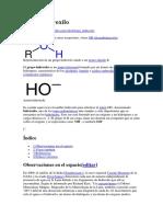 Grupo Hidroxilo