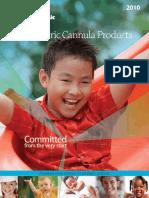 Pediatric Cannulae Catalog