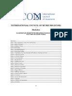 ICOM Code en Web