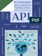 Diccionario enciclopedico regional de psicoanalisis