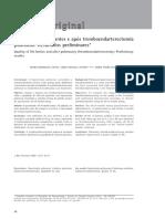 Calidad de Vida Tromboedarterectomia