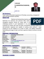 JamshaidSultan CV