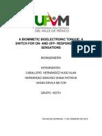 A Biomimetic Bioelectronic Tongue