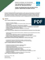 Pruebas y Mediciones en Redes Ópticas