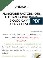 Power Point 6 Semana 7.- Factores Que Afectan La Diversidad Biológica II