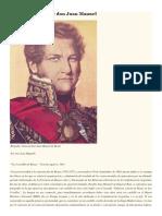 Bowie de Don Juan Manuel de Rosas