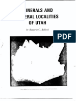 UGS B-117 Mineral Localities Bullock
