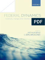 10. Arthur Benz, Jorg Broschek Broschek - Federal Dynamics_ Continuity, Change, and the Varieties of Federalism-Oxford University Press (2013).pdf