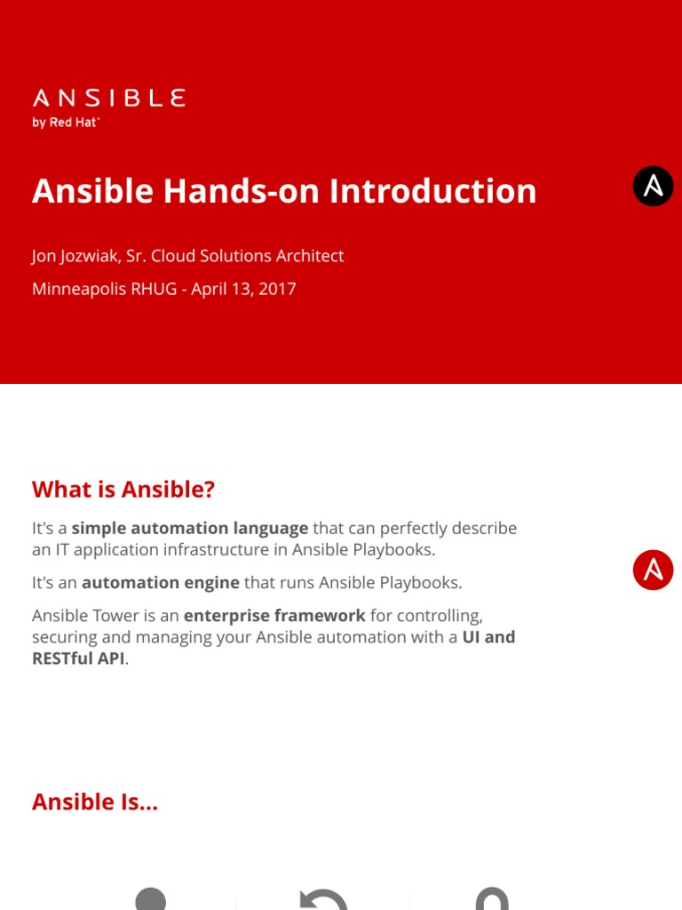 Ansible-Hands-on-Introduction pdf | Technology | World Wide Web