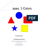 5 Shapes, 3 Colors - A Dolch Pre-primer Level 2 eBook