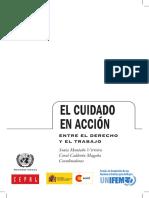MONTAÑO, CALERON coord - El cuidado en accion, entre el derecho y el trabajo.pdf