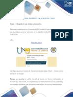 Pasos para registro en Academia CISCO.pdf