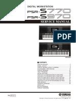 PSR S770 S970 ServiceManual