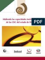 MIDIENDO LAS CAPACIDADES INSTITUCIONALES DE LAS OSC