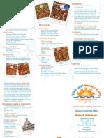 Splash Cafe Catering Brochure Wedding Appetizer Desserts
