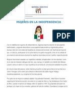 Hist_Mujeres en La Independencia