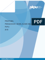 Proposal Pengadaan Mobil Klinik Keliling Pkpu 2013