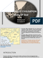 INDUS VALLEY CIVILIZATION- The Story of Seal Civilization-By Kriti Kumari