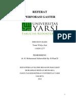 Referat Perforasi Gaster