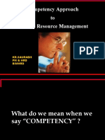 Competency Approach to HRM