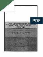 CARDONA, SARMIENTO - Analisis de Vulnerabilidad y Evaluacion Del Riesgo