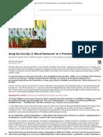 Aung San Suu Kyi_ a 'Moral Democrat' or a 'Precolonial Queen'_ _ the Diplomat