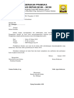 Proposal Gerakan Pramuka Smp Mz One