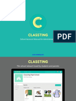 Classting_School_account_manual_150914.pptx