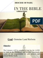 LAND in the BIBLE Diocese of Pasig.pptx