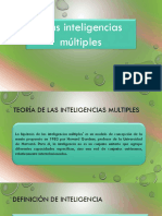 Kenny Castillo-41811063-Presentacion de Inteligencias Multiples