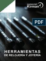 Kirman Catálogo Herramientas 2018