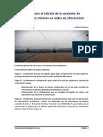 Etapas Para El Cálculo de La Corriente de Cortocircuito Mínima en Redes de Alta Tensiónn